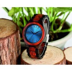 Ceasuri de mână din lemn- Albastru Doisprezece-Yisuya