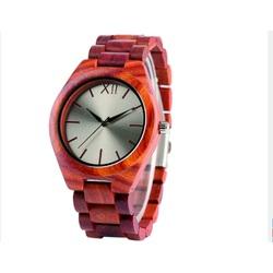 Ceasuri de mână din lemn- Roșu doisprezece-Yisuya