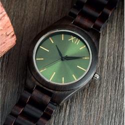 Ceasuri de mână din lemn- Verde doisprezece-Yisuya