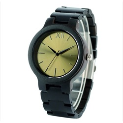 Ceasuri de mână din lemn- Aur doisprezece-Yisuya