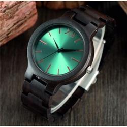 Set de ceasuri de lux din lemn- Albastru 12-Yisuya