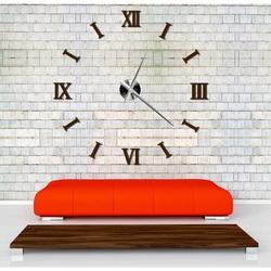 Ceas de perete modern pe perete Rome DIY CLOCK RIM 3D