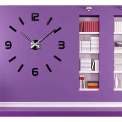 Elegant ceas de perete 3D - SONOMA