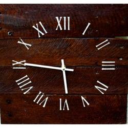 Drevené hodiny na stenu strom