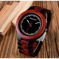 Ceas de mana din lemn - COMP