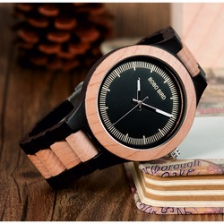 Ceas de mana stilat din lemn - ASTOR