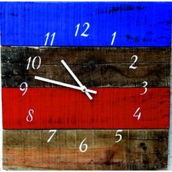 Ceas de perete din lemn Sentop acrilic colorat D40151