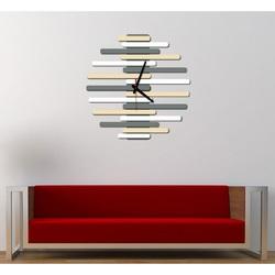 Ceas de perete modern - JUNONA, culoare:RAL1015-RAL9010-RAL7005