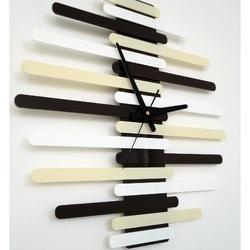 Ceas de perete modern AUREL culoare:RAL1015-RAL9010-RAL8017