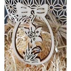Decoratiuni din lemn pentru Paste, dimensiune: 80x54 mm