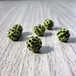 Șapcă Shamballa - verde de măsline FI 10 mm