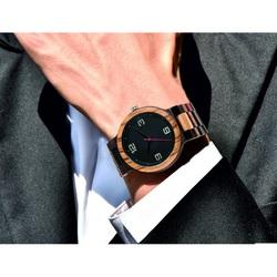 Elegant ceas de mana din lemn-GEORGIA-Yisuya