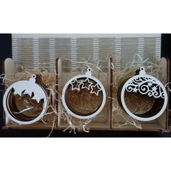 Crăciun ornamente pentru Crăciun, 1 set-21 bucăți