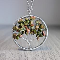 Gemstone Pendant - Fa - Unakit