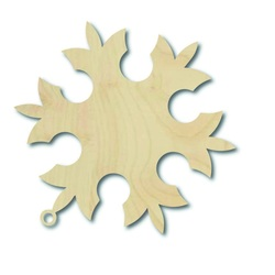 Decoratiuni de Craciun din lemn, dimensiune: 8,8 x 8,2 cm