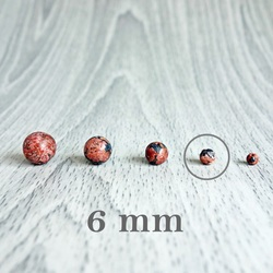 Jasper leopard - minerale cu bile - FI 6 mm