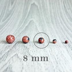 Jasper leopard - minerale cu bile - FI 8 mm