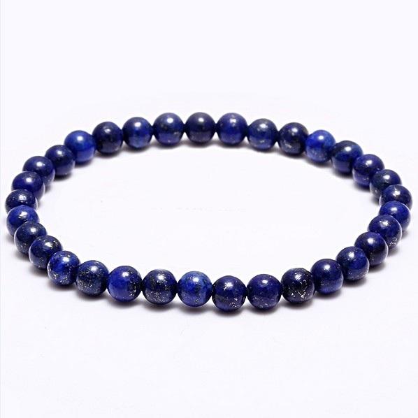 Náramok na ruku - Lapis lazuli - FI 6 mm