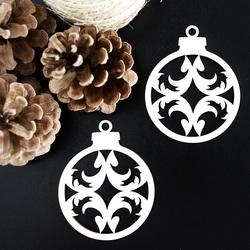 Ornament pentru pom de Crăciun - Arcul mare, dimensiune: 79x90 mm