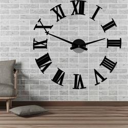 Ceas de perete montat pe perete al lui Roman 2D plexi