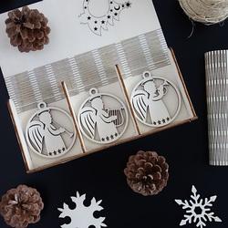 Set de decorațiuni de Crăciun pentru plăcere, 1 set-18 bucăți