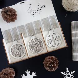 Set de decoratiuni de Crăciun pentru Crăciun, 1 set-18 bucăți
