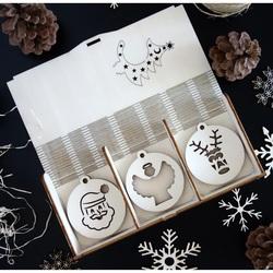 Colecție de decorațiuni de pom de Crăciun, 1 set -18 bucăți