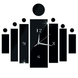 Ceas de perete lipit ca un cadou DIY HOJOKER l ore 3D