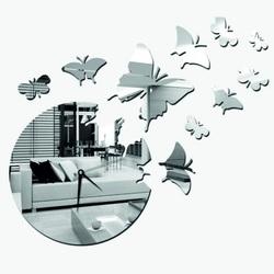 Ceas modern fluture ceas (ceas pe perete oglindă) GIFFORD