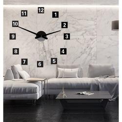 Perete cu ceas mare de perete (Ceas pe perete din plastic) 2D DEKOR