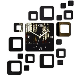 Ceas pe perete modern pătrat 50x40 cm FIGARO LUSTERKO