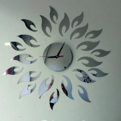 Ceas de perete Mirror Sun, 42x42 cm