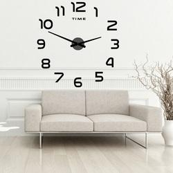 Ceas de perete cu plexiglas adeziv mare  2D PALETTE DIY