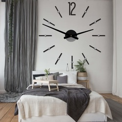 Ceas de perete modern ce lipeste ceasul de autocolant SOFIA XXL DIY