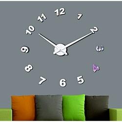 Wall Clock Mirror. Punching oglinda numere de ceas DIY NOSPEN