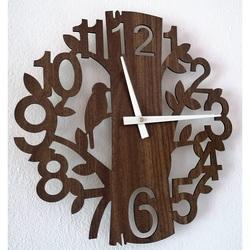 Ceas de perete din lemn din HDF HORICA