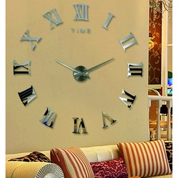 Ceasul ceasului de perete cu ceas 3D Ceas 3D pe perete ca imagine HUGO