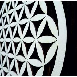 Mandala din lemn ca o pictura pe perete decorarea placajului MANDALA