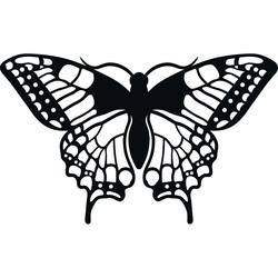 XLL 1100 X 647 mm Fluture de noapte sculptat din placaj LEOPARTID din lemn