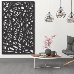 Imagine din lemn pe un perete din placaj Topol RHELLOOO