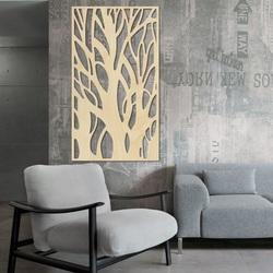 Pictura pe perete a copacului din placaj din lemn de plop lydia 2
