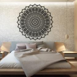 Mandala floare calm imagine de lemn pe un perete de placaj SILVIA