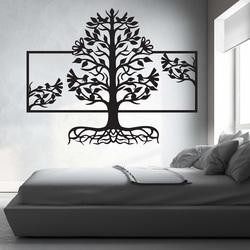 Pictura din lemn pe peretele unui copac rădăcinoasă din placaj de lemn plop MALFEL