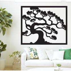 Imagine din lemn pe peretele unui placaj din lemn de bonsai DRAZSKA