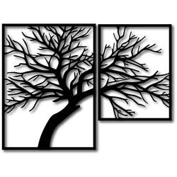 STYLESA Imagine din lemn pe placaj Imaginea este compusă din două părți OLGA și negru PR0220