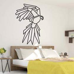 STYLESA Pictura in pereti sculptata forme geometrice  vulturul PR0235 negru