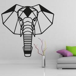 XMOMO cioplit imagine pe perete elefantul PR0237 negru