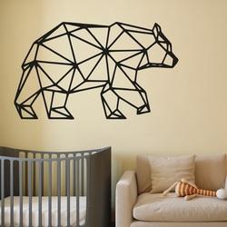 SENTOP Imagine sculptată pe peretele unui urs PR0240 negru