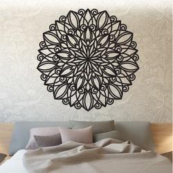 SENTOP Mandala imagine din lemn pe perete din placaj HARMONY PR0246 negru
