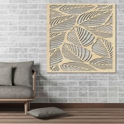 Faragott fából készült fal kép a rétegelt lemezből ORKO